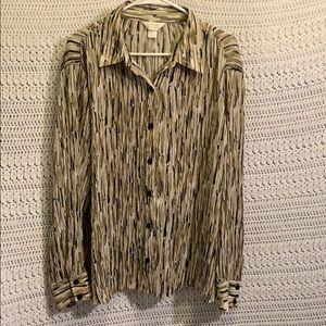 CJ Banks plus size women's blouse